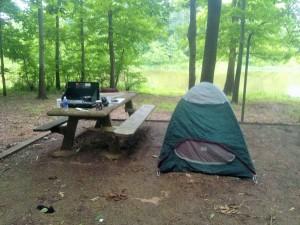 Alabama campsite